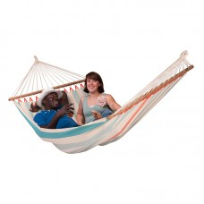 LA SIESTA® Colada Curaçao - Weather-Resistant Double Spreader Bar Hammock