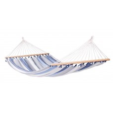 LA SIESTA® Alisio Sea Salt - Weather-Resistant Double Spreader Bar Hammock