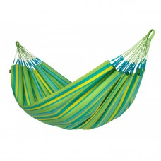 LA SIESTA® Brisa Lime - Weather-Resistant Double Classic Hammock