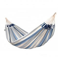LA SIESTA® Brisa Sea Salt - Weather-Resistant Kingsize Classic Hammock