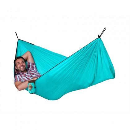 LA SIESTA® Colibri Turquoise Travel Hengekøye Single