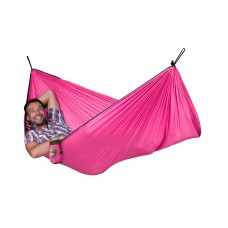 LA SIESTA® Colibri Fuchsia Travel Hengekøye Single