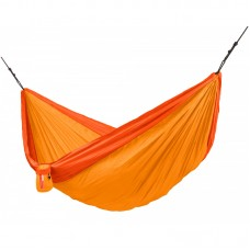 LA SIESTA® Colibri 3.0 Sunrise - Double Travel Hammock with Suspension