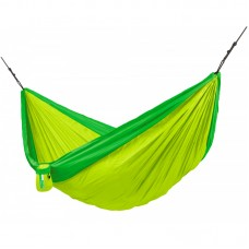 LA SIESTA® Colibri 3.0 Palm - Double Travel Hammock with Suspension