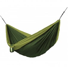 LA SIESTA® Colibri 3.0 Forest - Double Travel Hammock with Suspension