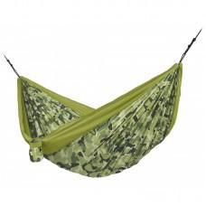 LA SIESTA® Colibri 3.0 Camo Forest - Double Travel Hammock with Suspension