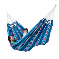 LA SIESTA® Currambera Blueberry - Cotton Double Classic Hammock