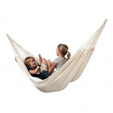 LA SIESTA® Modesta Latte - Organic Cotton Single Classic Hammock