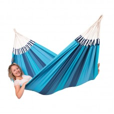 LA SIESTA® Orquídea Lagoon - Cotton Single Classic Hammock