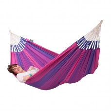 LA SIESTA® Orquídea Purple - Cotton Single Classic Hammock