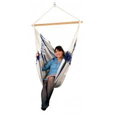 LA SIESTA® Domingo Sea Salt - Weather-Resistant Comfort Hammock Chair
