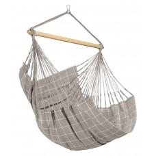 LA SIESTA® Domingo Almond - Weather-Resistant Comfort Hammock Chair