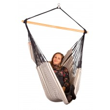 LA SIESTA® Habana Zebra - Organic Cotton Comfort Hammock Chair