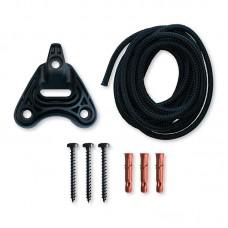 LA SIESTA® Monteringssett Hengestol - Home Rope Svart 160kg