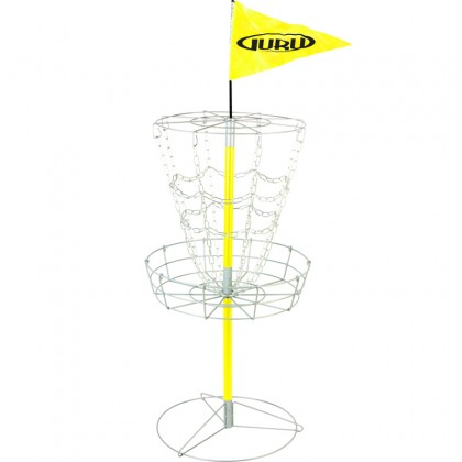 B-VARE Guru Disc Golf Practice Basket Junior