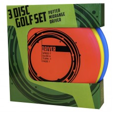 3 Disc Golf Basic Starter set