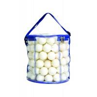 Bordtennisball 144 stk, i oppbevaringveske. Hvit 40+