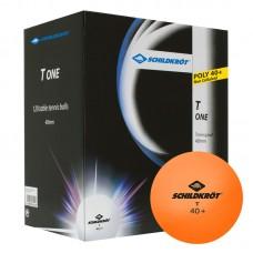 1-T 40+ Bordtennisball Poly 120 stk. Orange