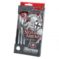 Harrows Dart Arrows Steeltip Silver Arrow