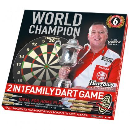 Harrows World Champion Family Darts Game