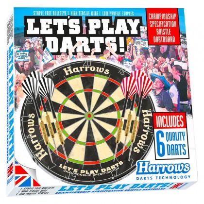 Harrows Lets Play Darts Bristle Set