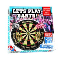 Harrows Lets Play Darts Bristle Set