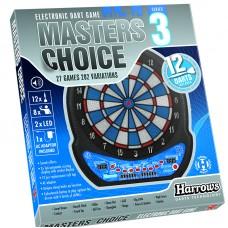 Harrows DartSpill Elektronisk Masters Choice 3 inkl 12 piler