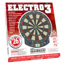 B-Vare Harrows DartSpill Elektronisk Electro 3 inkl 6 piler