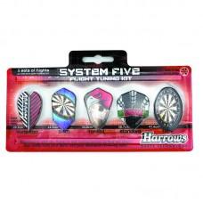 Harrows Dart Flights System 5 Sets 15 Pcs