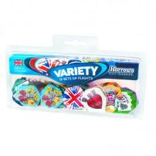 Harrows Dart Flights Variety 10 Sets 30 Pcs