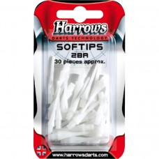 Harrows Dart Softtip 30 stk Dimple Hvit
