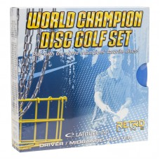 World Champion Retro Disc Golf Set