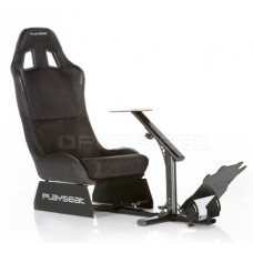 Playseat® Evolution Black Alcantara, Black frame